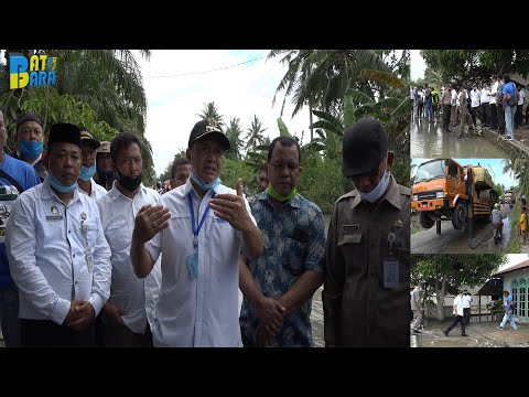 Bupati Batu Bara Tinjau Lokasi Banjir
