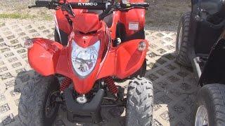 10. Kymco Maxxer 50 ATV Exterior and Interior in 3D