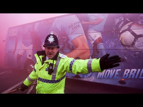 Manchester City Coach Posts Footage Of Attack On Team Bus