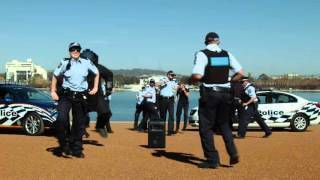 AFP officers from national HQ and ACT Policing have responded to a 'threat' this morning here in Canberra… a dance-off...