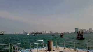 タイの通り・街並バリハイ桟橋
