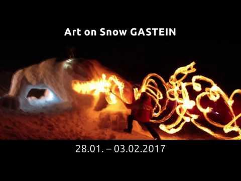 Art on Snow Gastein Teaser 2017 - ©Gasteinertal Tourismus