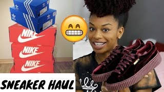 HUGE SNEAKER HAUL| Puma, Nike, Adidas, Converse