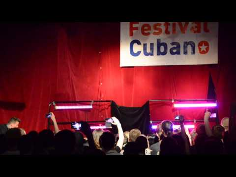 Festival Cubano 2013 Bielsko-Biała - Yeni Molinet & Danger Rodriguez (видео)