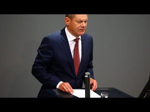 Bundesfinanzminister Scholz will an Haushaltspolitik festhalten