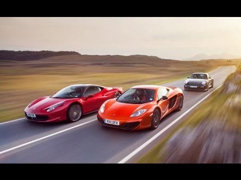 2011 ferrari 458 italia vs 2012 mclaren mp4 12c 2011 porsche 911 gt2 rs car and driver. Black Bedroom Furniture Sets. Home Design Ideas