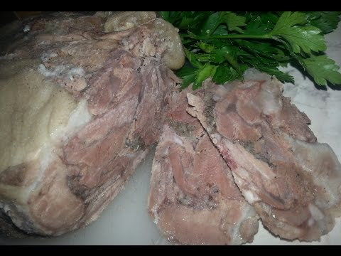 Домашняя ветчина из свинины рецепт с фото
