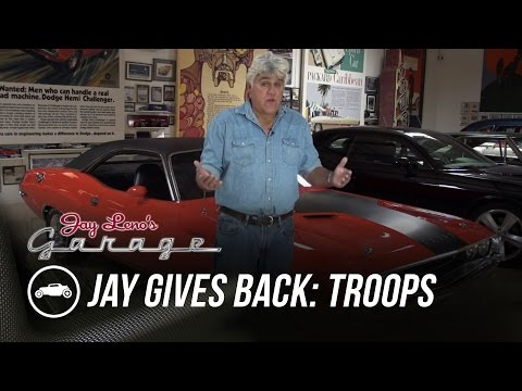 Jay Gives Back to Our Troops – Jay Leno's Garage