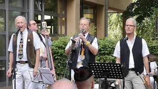 That's My Home - Limehouse Jazzband live beim Hamburger Jazzwalk 2019 beim Restaurant Ribling am Bahnhof Ohlsdorf