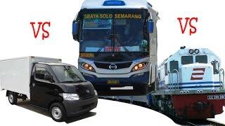 Video Sugeng Rahayu VS Mobil Box Gak mau ngalah plus Bis Mira (gila) MP3, 3GP, MP4, WEBM, AVI, FLV November 2017