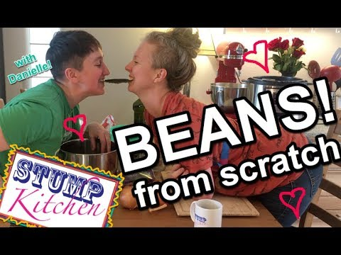 HOW TO MAKE BEANS from SCRATCH! (Healthy, Vegan + Gluten Free)