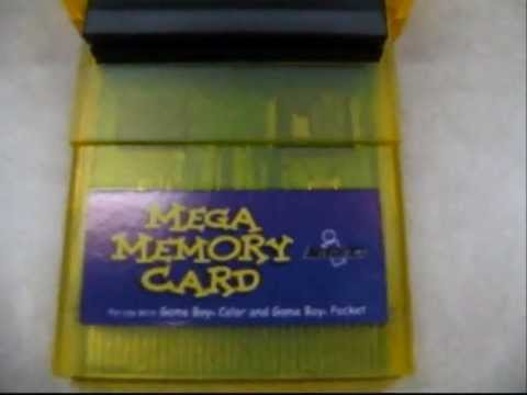 mega memory - A review of the Mega Memory Card for the Game Boy, Game Boy Pocket, and Game Boy Color. Tested and works on: Game Boy Color Game Boy Advance GameCube Game Boy Player Does NOT work on: Super...