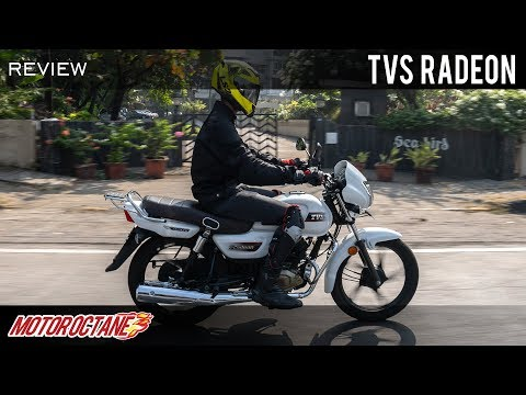 TVS Radeon Review | Hindi | MotorOctane