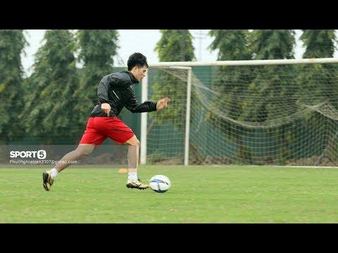 Đình Trọng chạy đua với thời gian cùng thầy Choi mong trở lại VL U23 Châu Á 2018 - Thời lượng: 10 phút.