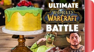 THE ULTIMATE WORLD OF WARCRAFT COOKING BATTLE #ad by SORTEDfood