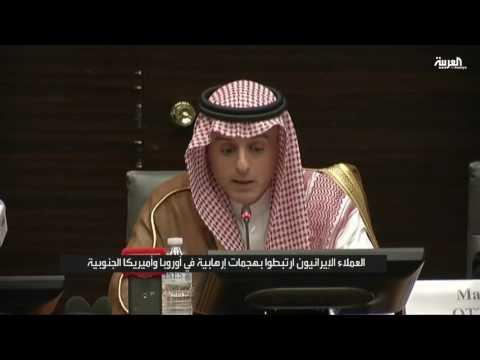 #فيديو .. رد صاعق لـ #الجبير على القنصل الإيراني