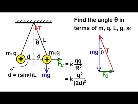 Physics - E & M: Coulomb's Law (4 of 8) Example 1 (Challenging Problems)