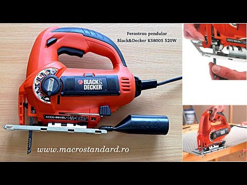 Ferastrau electric Black & Decker KS800S