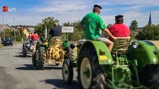 Druhý sraz historických traktorů v Pavlově 2015