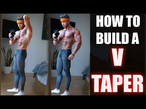 Creating That V-Tapered Physique | How I Keep a Small Waist | Zac Perna