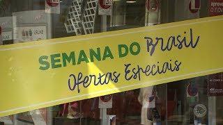 Semana do Brasil oferece descontos e promete aquecer a economia