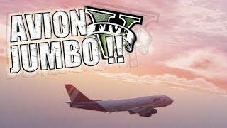 GTA V | Policías, Tiburones y Aviones JUMBO !! (Grand Theft Auto 5)
