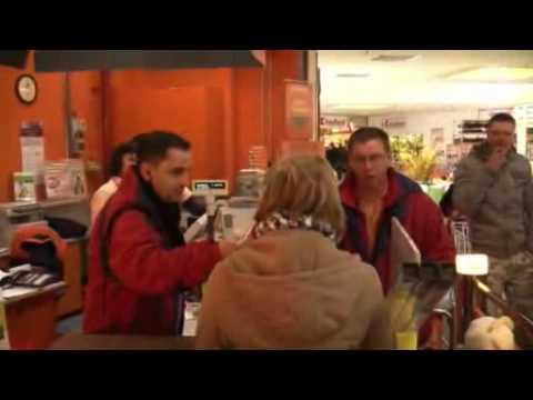 Mirko bezahlt ihre Rechnung | 06.03.2010 OBI Baumarkt Zschopau