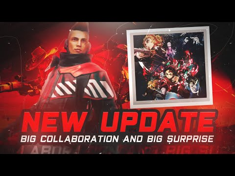 New Update 🤫 | Free Fire Big Collaboration ? ✔️ | Free Emote | Free Character | Garena Free Fire 🔥
