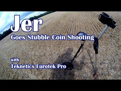 Metal Detecting - Stubble Coin Shooting - (Teknetics Eurotek Pro)