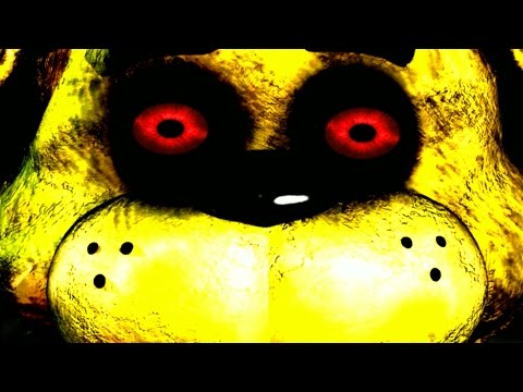 Fazbear nightmare golden freddy jumpscare easter egg new horror fan