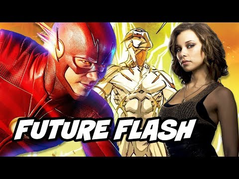 The Flash Season 4 Return Of Nora Allen Episode Confirmed And Godspeed