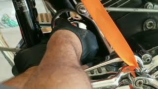 5. Harley Davidson Heritage  Softail Oil Change