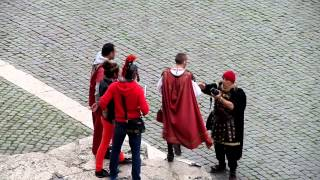 Nonton Gladiators Scaming Tourists At The Colosseum In Rome Film Subtitle Indonesia Streaming Movie Download