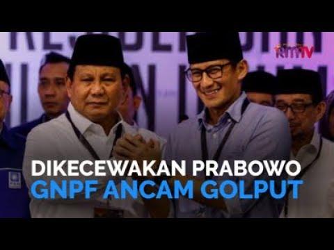 Dikecewakan Prabowo, GNPF Ancam Golput