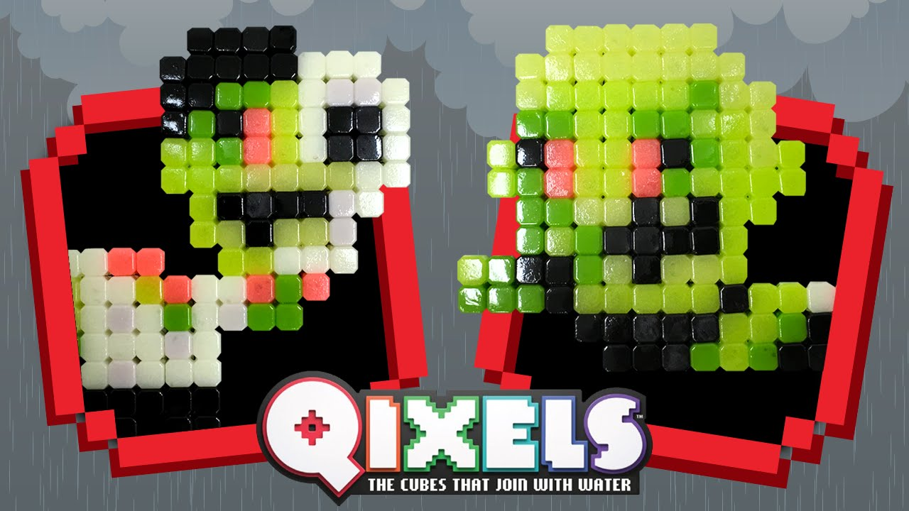 GLOW IN THE DARK ZOMBIES – QIXELS