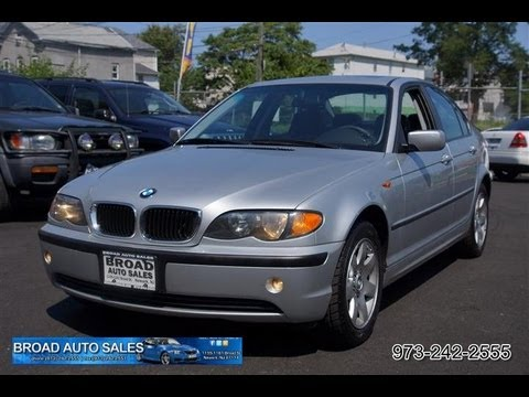 2002 BMW 3-Series 325XI AWD All-Wheel-Drive Sedan