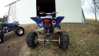 9. 2001 Yamaha Raptor 660 walk-around