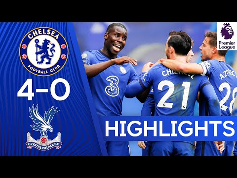 Chelsea 4-0 Crystal Palace | Ben Chilwell Bags Goal & Assist On PL Debut | Premier League Highlights