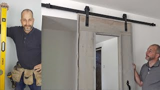 How to Install a Hanging Barn Door