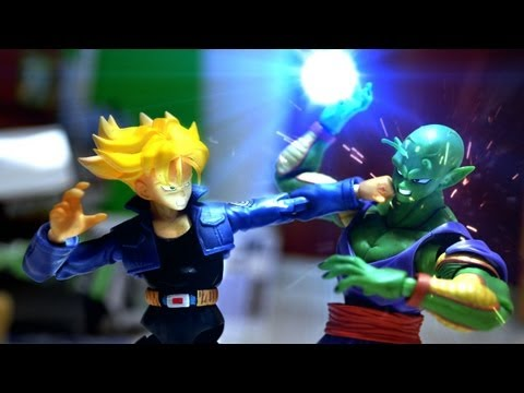0 Dragon ball Z Stop Motion   Piccolo VS Trunks 