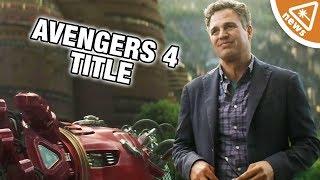 Did Fans Decode Mark Ruffalo's Avengers 4 Title? (Nerdist News w/ Amy Vorpahl)