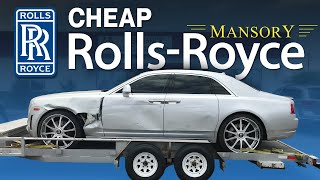 Video REBUILDING A WRECKED ROLLS ROYCE GHOST MANSORY LIVE AUCTION AND PICKING UP THE ROLLS MP3, 3GP, MP4, WEBM, AVI, FLV Juli 2019