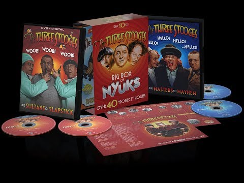 The Three Stooges - Big Box Of Nyuks - Promo Video