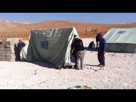 Syrian Refugees: Transit Camp in Arsal, Lebanon