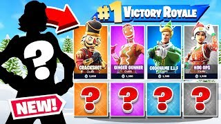 CHRISTMAS Random SKIN *NEW* Challenge Game Mode in Fortnite Battle Royale