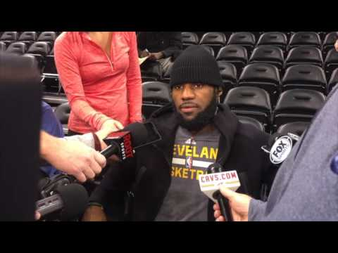 LeBron James says how Kyle Korver can fit in as a Cav