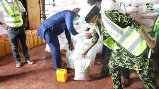 Victims Support Fund Covid-19 Task Force Donates Food items and PPE's to Enugu State