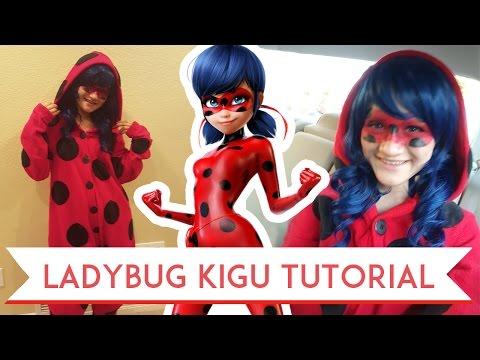 Ladybug Kigurumi Tutorial!