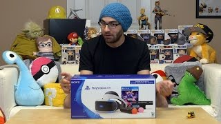PlayStation VR - Unboxing dos Óculos de Realidade Virtual do PS4 (Sony PSVR)