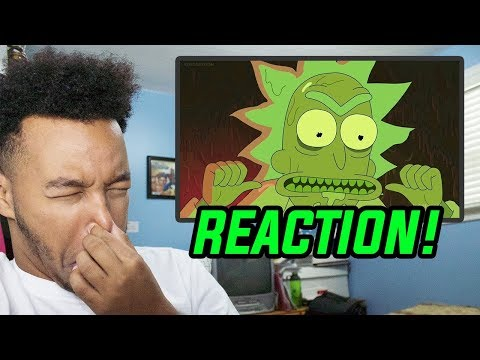 """Rick and Morty Season 3 Episode 6 """"Rest and Ricklaxation"""" REACTION!"""